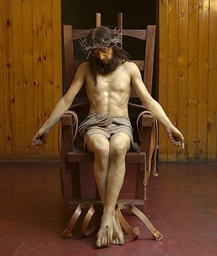 Paul-fryer-pieta-jesus-electric-chair